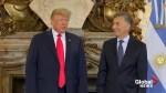 Trump meets Argentina's Macri on sidelines of G20