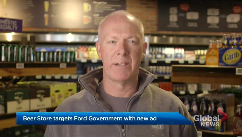 Ontario breaks the agreement with the Beer Store