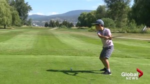 Golfing in the shadow of airport expansion at Shadow Ridge in Kelowna