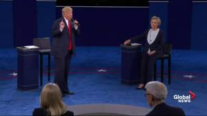 Presidential debate: Trump rejects Assad, but credits Syrian leader for attacking ISIS