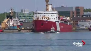 Icebreaker set to leave Halifax Harbour for Arctic expedition