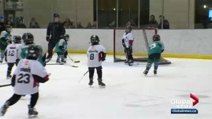 Highlights from Simons Valley Timbits Winter Classic Saturday