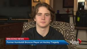 Former Humboldt Broncos player discusses how hockey community is coping