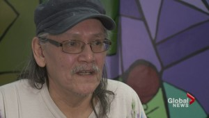 Artwork by well-known First Nations artist adorns the walls of St. Paul's Hospital