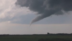Funnel cloud spotted near Killam, AB