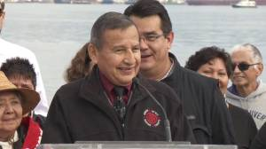 'What you see on my face is my smile': Grand Chief Stewart Phillip celebrates Trans Mountain victory