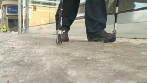 Winnipeg pedestrians complain about slippery sidewalks, city says they are working on it