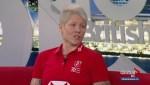 Rugby 7 star Jen Kish
