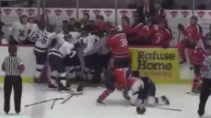 Players, coach penalized for Nova Scotia university hockey fight