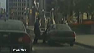 Dashcam video captures alleged Parliament Hill shooter