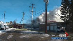 Fire damages historic Wetaskiwin hotel