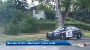 Police investigation in Calgary community of Collingwood