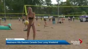 Heatwave hits eastern Canada over long weekend