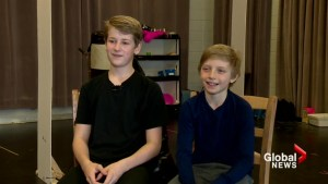 Young actors follow their dreams to share lead role in Calgary's 'Billy Elliot The Musical'