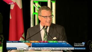 Saskatchewan Party will be a government that will stand up for province, says Brad Wall
