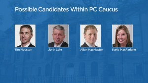 Who is set to succeed Jamie Baillie as leader of the Nova Scotia Tories?