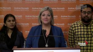 Horwath believes affordable dental coverage will relieve pressure on hospitals