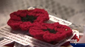 Morinville woman commemorates Remembrance Day with handmade poppies