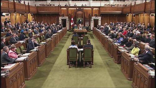 Unreal Exchange In House Of Commons Over Canada S
