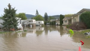 Evacuation orders issued because of lake and creek flooding near Lake Country