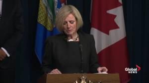 Premier Rachel Notley provides more details on province's emergency funding program