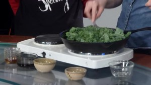 Knifey Spooney, Kingston's finest plant based food purveyors visits The Morning Show