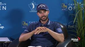 Hadwin feels pressure of Canadian Open: We're trying our best to win