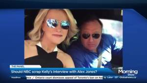 Should Megyn Kelly's interview with Alex Jones be scrapped? (03:26)