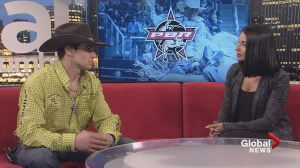 Professional bull rider Cody Coverchuk ranked third in Canada