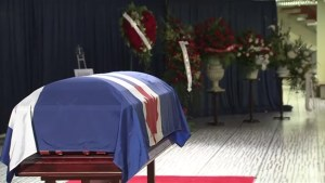 'Beloved husband and father': Flowers, wreaths flank Rob Ford casket at city hall