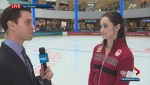 Figure skater Kaetlyn Osmond preparing for Olympics
