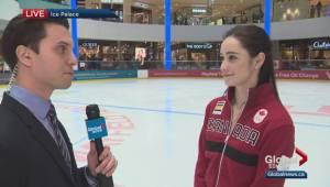 Figure skater Kaetlyn Osmond preparing for Olympics
