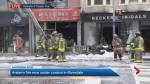 Fire crews battling 4-alarm blaze on Danforth now under control
