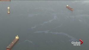 English Bay oil spill