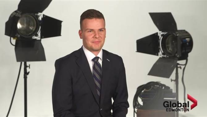Click to play video: Get to know Global News weather specialist Phil Darlington