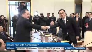 Thawing relations with North Korea