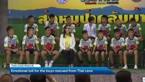 Focusing on the emotional well-being of the boys that were trapped in Thai cave