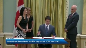 What does the cabinet shuffle mean heading in to the next federal election?
