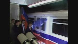 Original Expo '86 SkyTrain cars refurbished