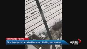 Ice storm forces CN Tower to close, Blue Jays game to be cancelled
