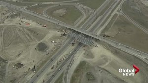 Construction delays continue on Calgary ring road