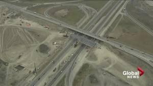 Construction delays continue on Calgary ring road