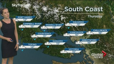 Goodbye Summer Strong Winds Up To 10 Cm Of Rain Forecast For B C S South Coast