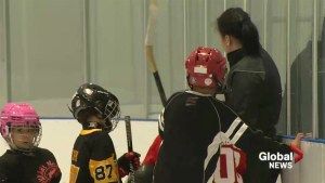 Olympian Brigette Lacquette spends time with First Nation kids in southern Alberta
