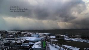 Lake effect snow time lapse in Buffalo