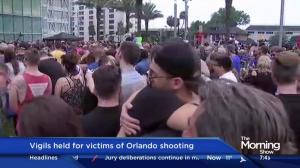 Vigils held for victims of Orlando shooting