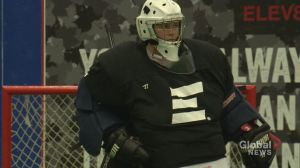 'Follow your dreams': Deaf lacrosse goalie has message for young girls