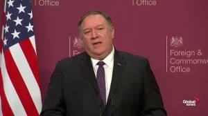 'It is disgusting': Pompeo slams any leaders who support Maduro
