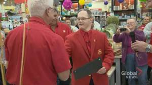 Home Hardware employee with Down syndrome celebrated on 25th anniversary