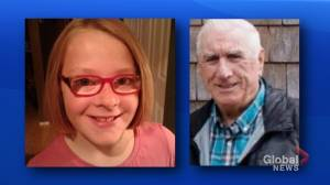 Missing Miramichi girl, 11, and her great-grandfather located safe, say police